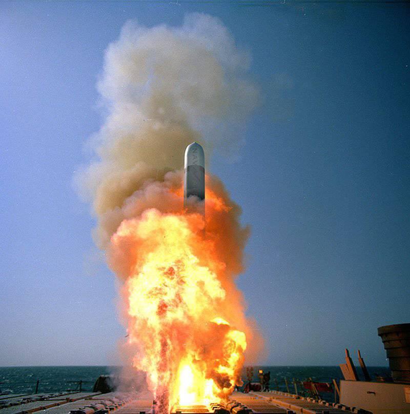 미국에 기반을 둔 순항 미사일의 전투 사용 경험과 발전 추세