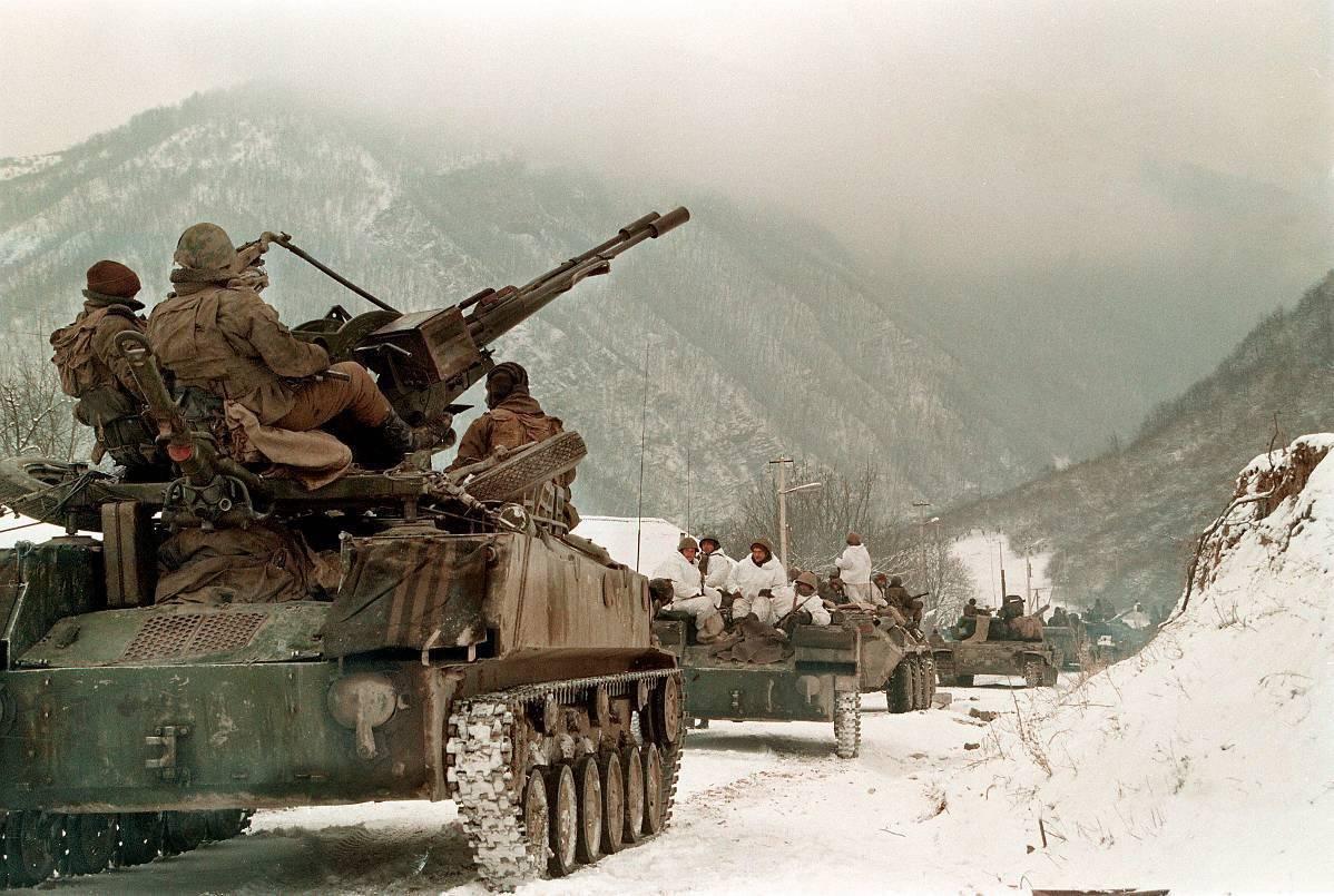 Первая Чеченская война в фотографиях Александра Неменова » Военное ...