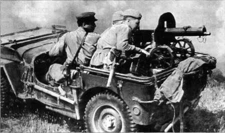 Büyük Vatanseverlik Savaşı'nda Kızıl Ordu'nun genel silahlanma sistemindeki makineli tüfekler