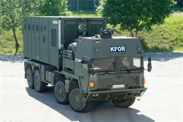 Krauss-Maffei Wegmann GmbH & Co.의 모듈 예약 KG
