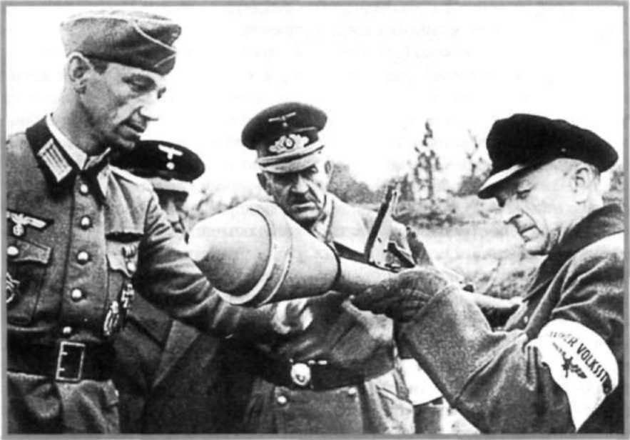 17962402ac51 Фаустпатрон (Faustpatrone) - РПГ «Panzerfaust» » Военное обозрение