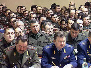 总参谋部承认错误地将数千名军官职位移交给非委任职位