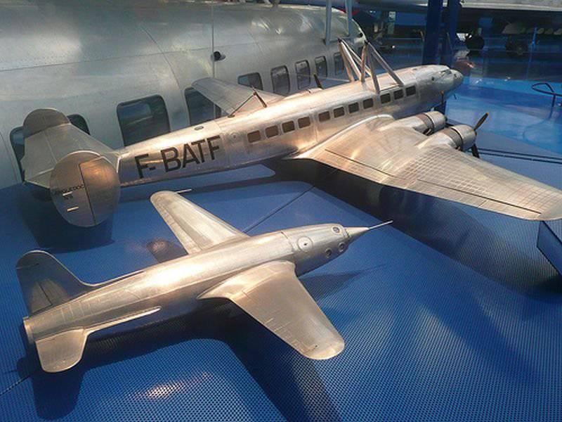 """프로토 타입 프랑스 전투기 - 요격기 """"LEDUC 022"""""""