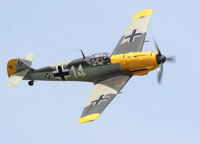 """Savaşçı Bf 109 """"Messerschmitt"""" - tarihteki en büyük savaşçı"""