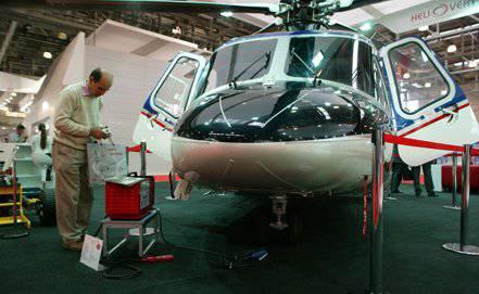 Rus-İtalyan Helivert ortak girişimi tarafından üretilen ilk AW139 helikopterleri bu yıl piyasaya sürülecek