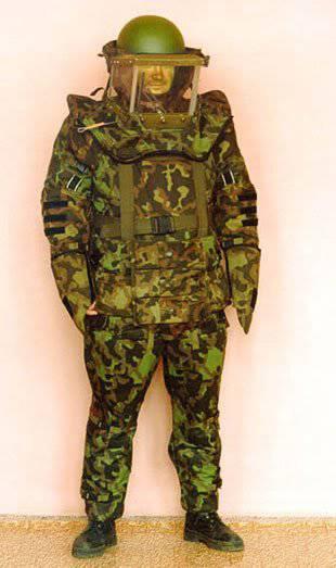 """Leichte Version des Anzugs Sapper """"Dublon"""" wurde in heißen Klimazonen in Friedensmissionen getestet"""