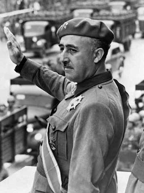 大元帅弗朗西斯科·佛朗哥 - 西班牙独裁者,摄政王和考迪略(领袖)