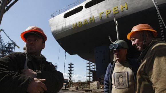 """舰队可能需要另一个""""Ivan Gren"""""""