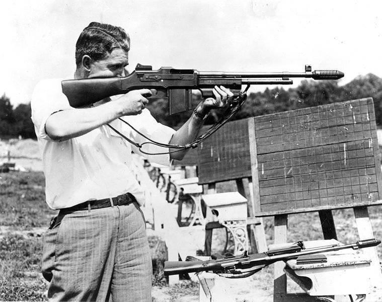 American Browning M1918 (BAR) Maschinengewehr