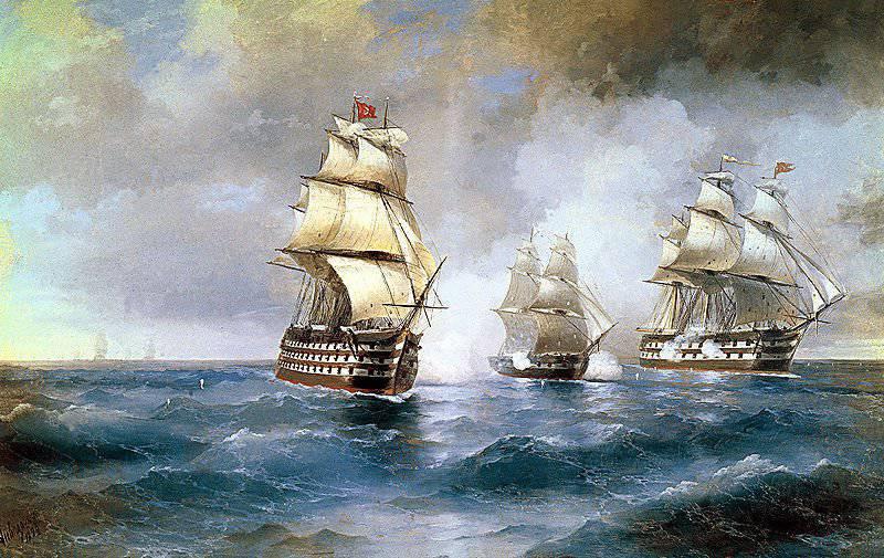 """Boğaziçi'nin girişinde Türk filosu ile """"Merkür"""" adlı kahramanca savaşın yıldönümü için 26 Mayıs 1829"""