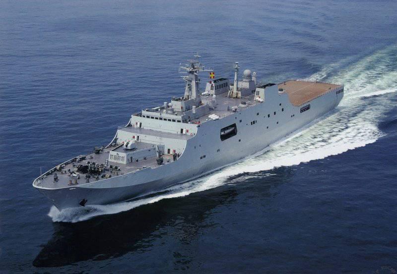 Marina cinese: dove atterrare?