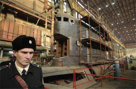 "Severodvinsk的船只将发射北方舰队"" Kaluga""的现代化无核潜艇"