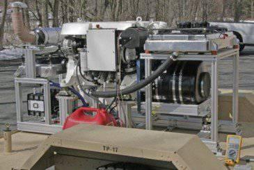 O Exército dos EUA está desenvolvendo um gerador nas toneladas 1.5 mais leves que as amostras atuais