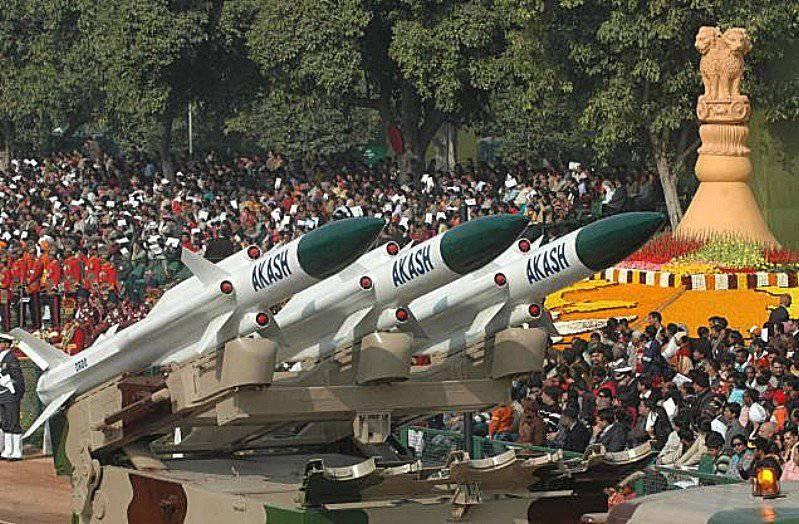 現代インドのSAM「アカッシュ」
