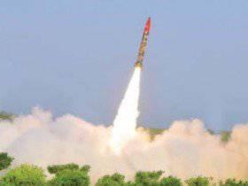 Hatf-9短程导弹试验在巴基斯坦成功完成