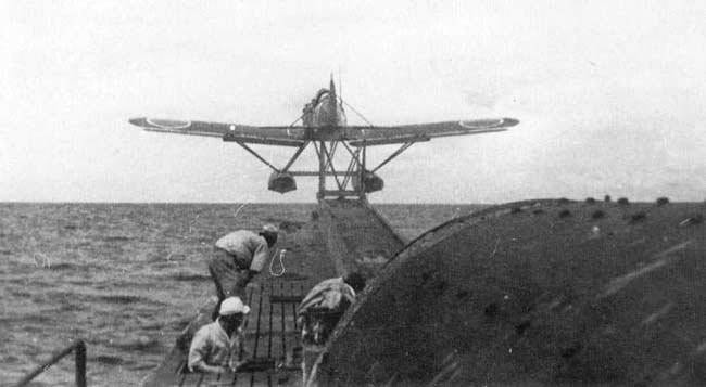Submarine aircraft carriers of the Japanese Empire