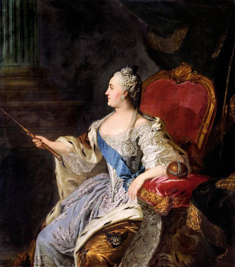 283 года со дня рождения императрицы Екатерины Великой