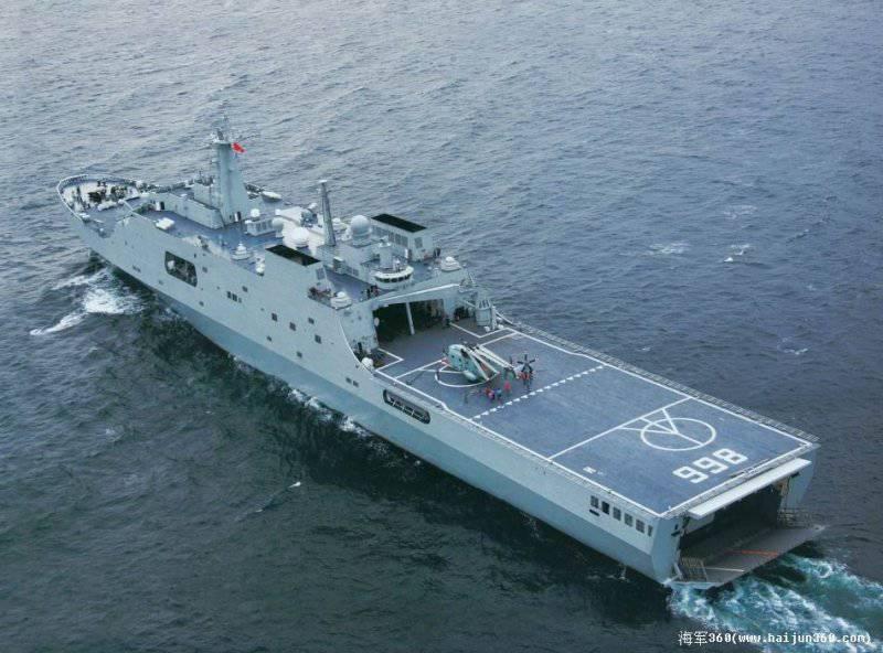 Китайский морской десант: куда высадиться?