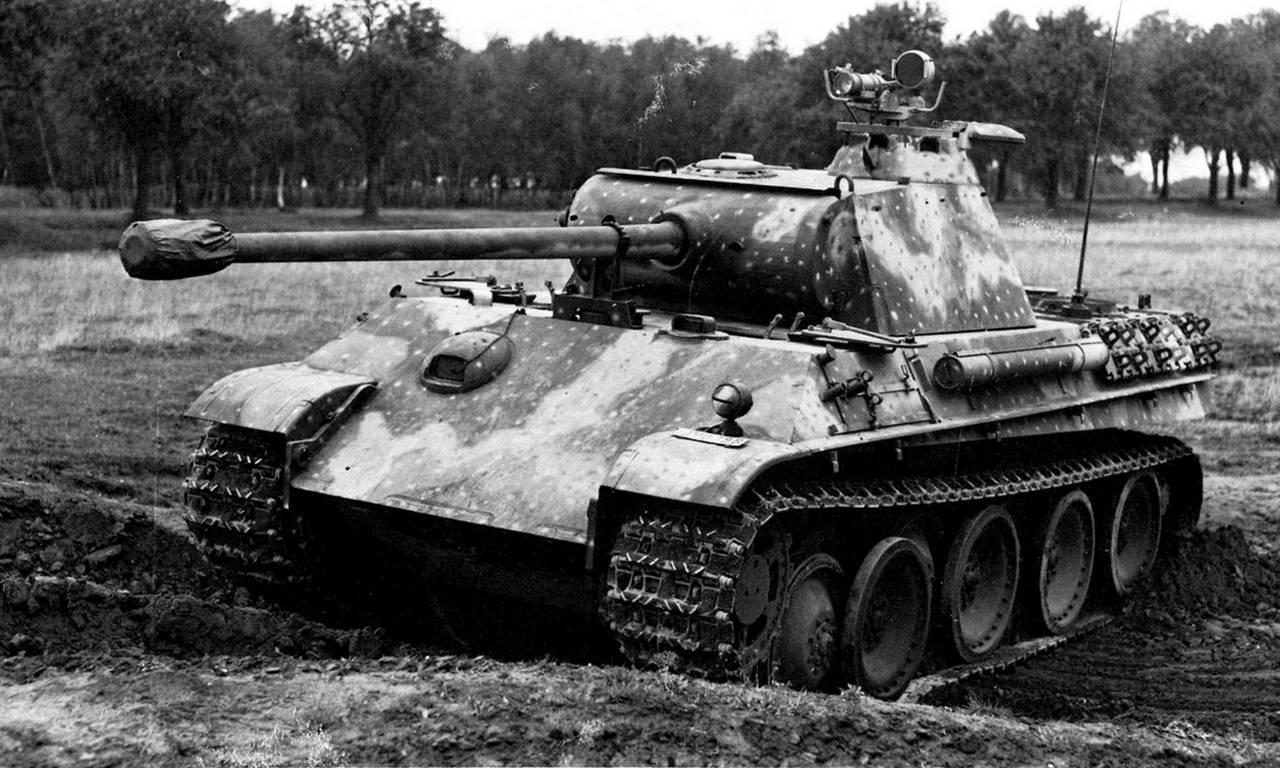 схема ходовой части танка тигр поздней серии