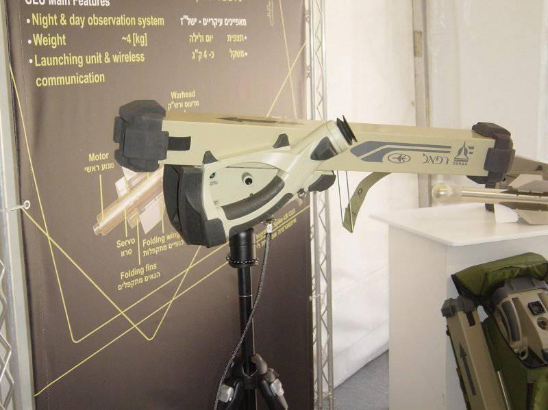 Sistema de misiles portátil ligero Rafael Mini-Spike