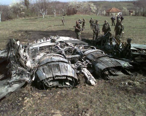 Потери НАТО в Югославии