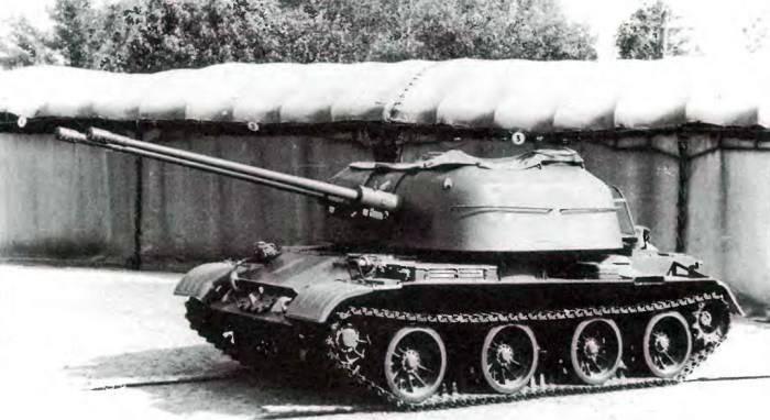 Танк Т-54 а также его