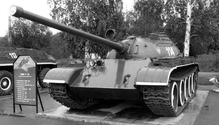 В ходе производства танка