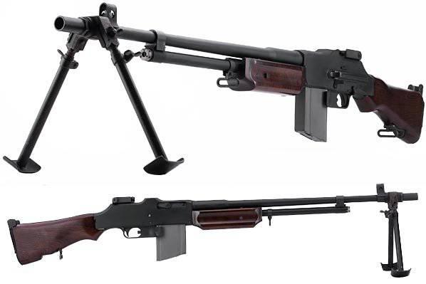 Uniform Belgian machine gun FN MAG