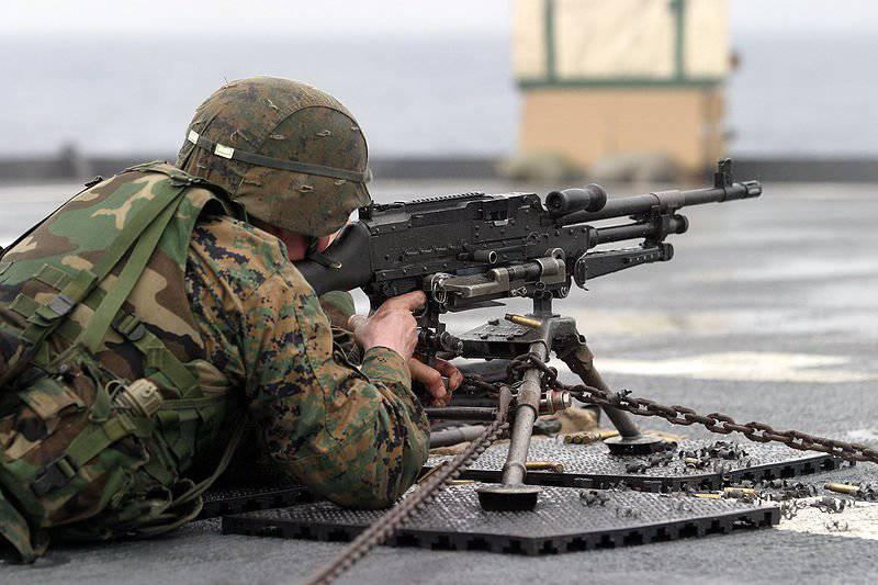 Единый бельгийский пулемет FN MAG
