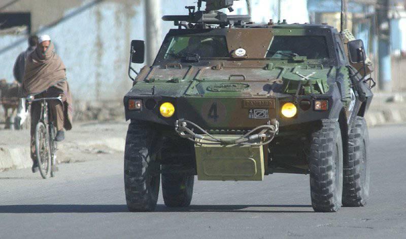 軽装甲偵察用車両VBL(ベヒクルブリンデレジェ)