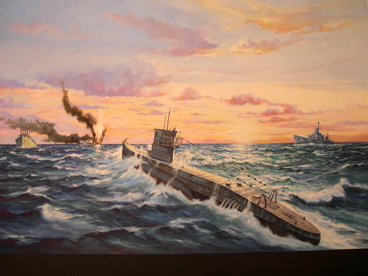 Картинки подводная война