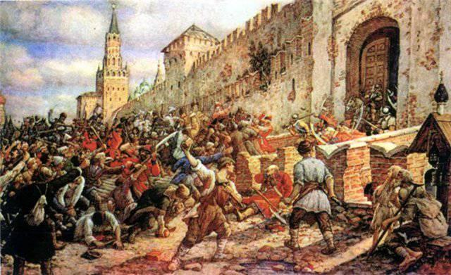 14 Juni 1648 des Jahres in Moskau begann eine Salzrevolte