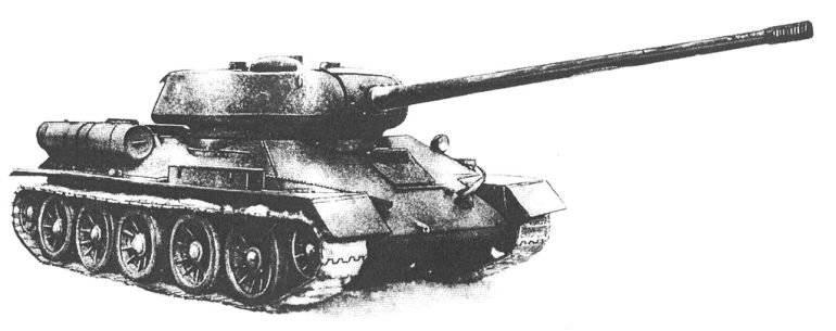 100-мм орудие для Т-34