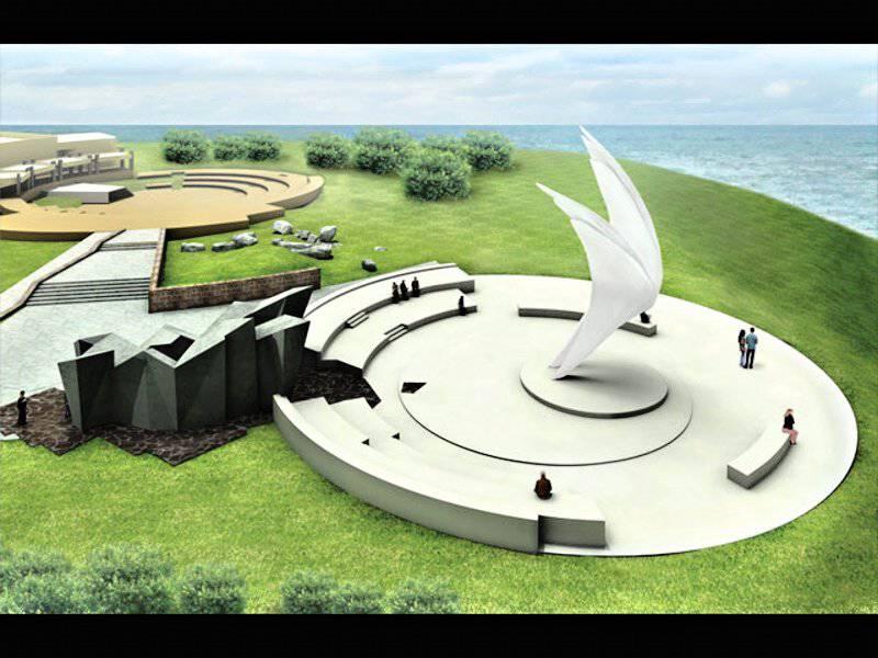İsrail Kızıl Ordu'nun anısına bir anıt inşa etti (fotoğraf).