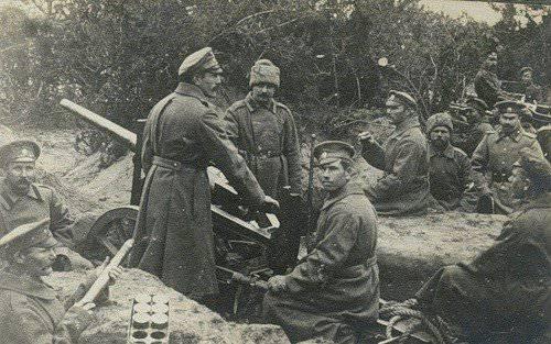 घरेलू बटालियन तोप 1915 - 1930