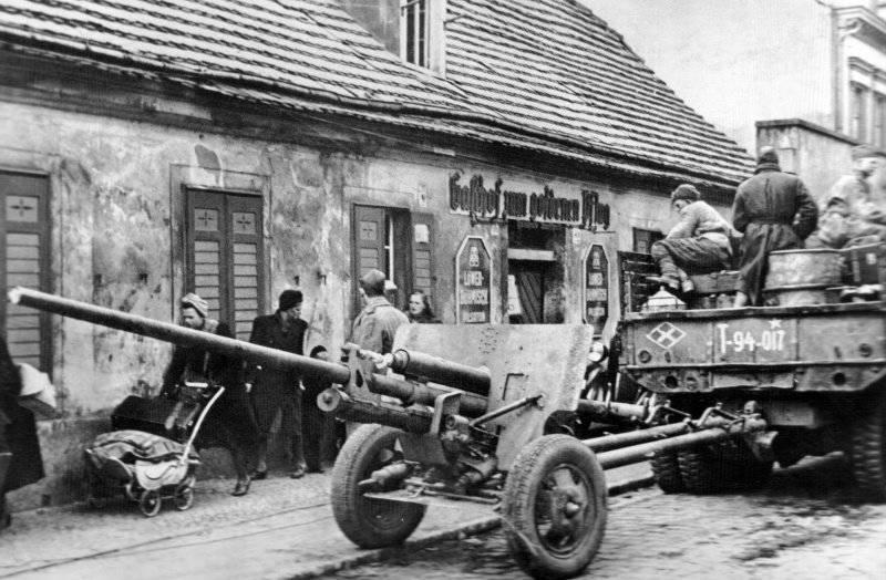 57-mm एंटी टैंक गन ZIS-2