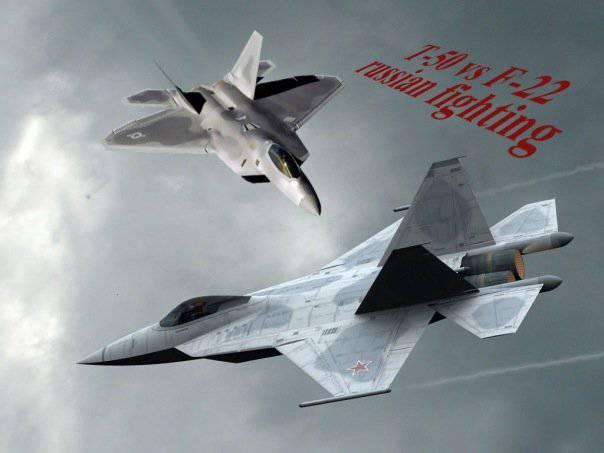 PAK FA gegen F-22