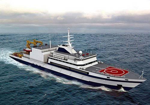 북부 함대를위한 새로운 다목적 구조선