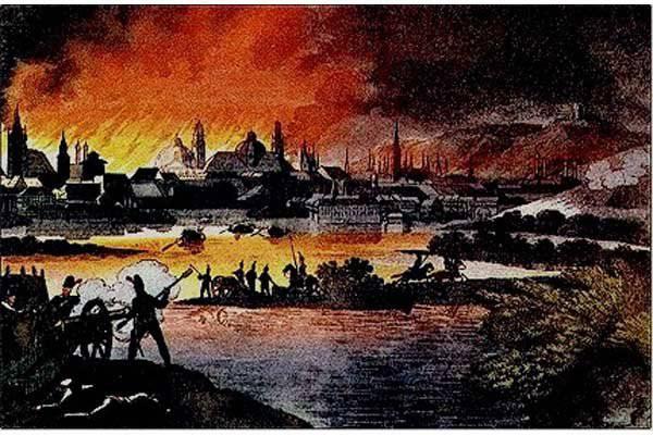 Московский пожар 21 июня 1547 года