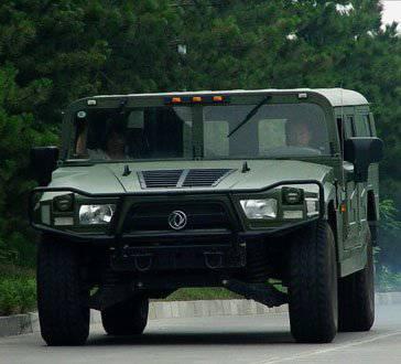 白俄罗斯军队接收了中国的全地形车