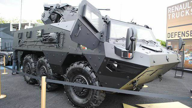 Броневик VAB Mk3 от «Renault Trucks Defense»