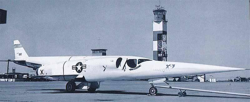 """实验飞机""""Douglas X-3 Stiletto"""""""
