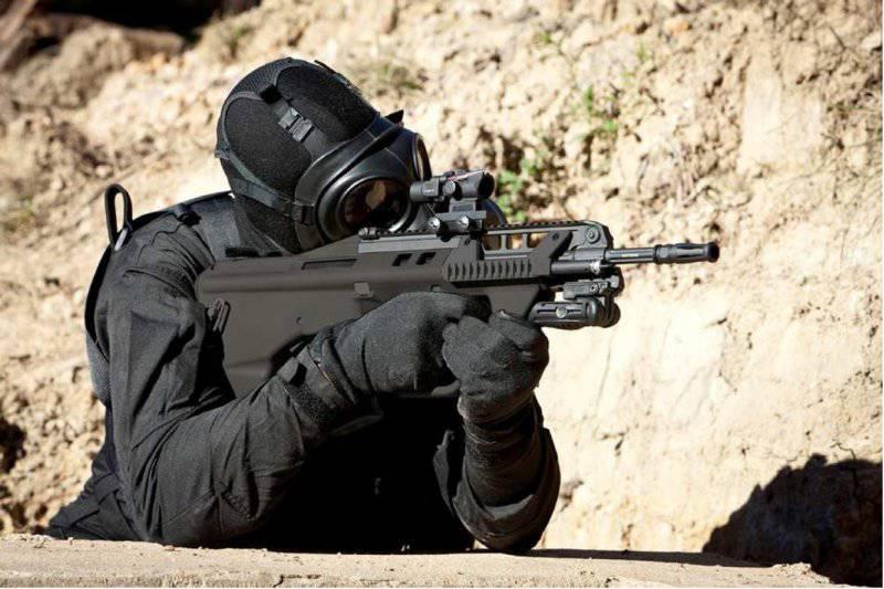Штурмовая винтовка F90 от Thales