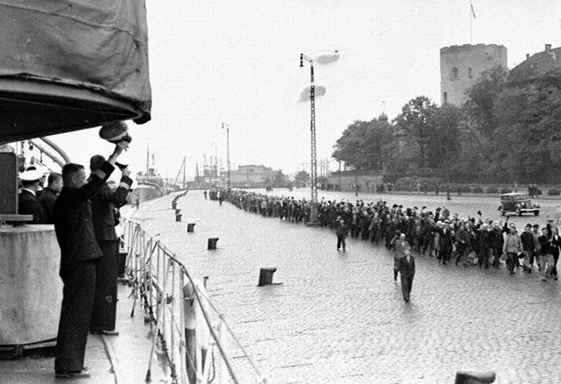 Советская «оккупация» Прибалтики в цифрах и фактах