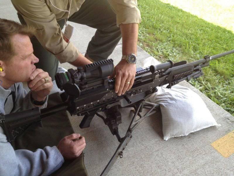 Легкий средний пулемет от «General Dynamics» под патрон .338 Norma Magnum