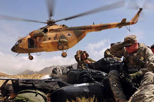 美国希望为阿富汗购买另一架12俄罗斯Mi-17B5直升机