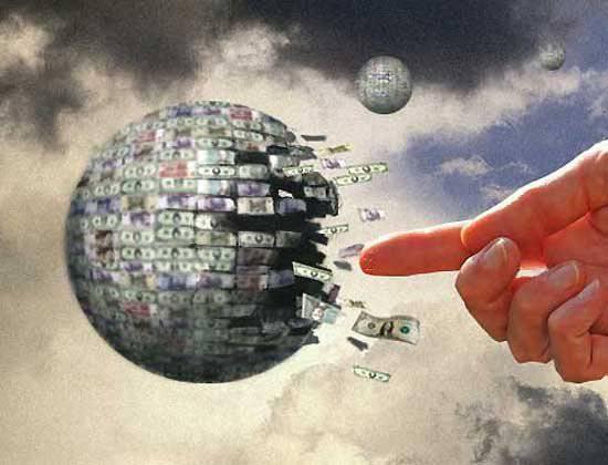 Иллюстрация необезпеченности доллара США