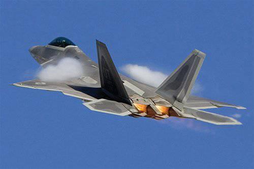 F-22 donanımlı pilot uyarı sistemi
