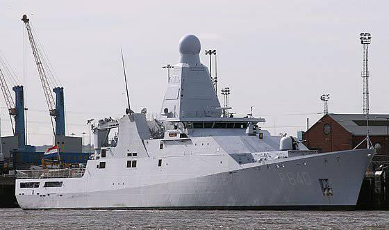 Hollanda Donanması Hollanda Sınıfı Devriye Gemisini Kabul Etti