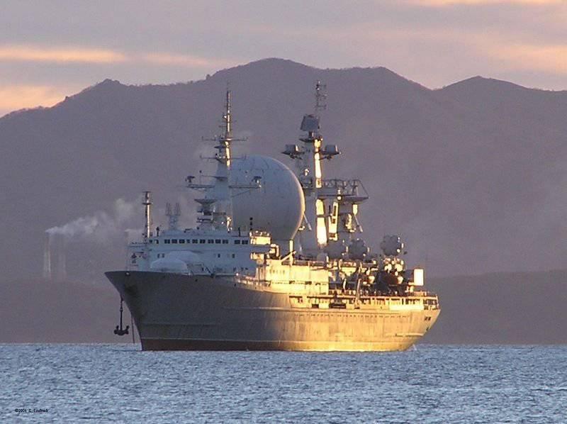 परीक्षण जहाजों में से अंतिम 1914.1 परियोजना का जहाज है, मार्शल क्रिलोव संचार पोत।